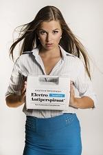 Electro Antiperspirant proti pocení hlavy
